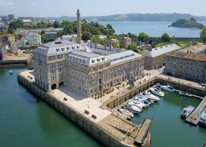 Click here for more about 15 Mills Bakery - Royal William Yard