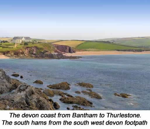 3 Thurlestone Rock Images
