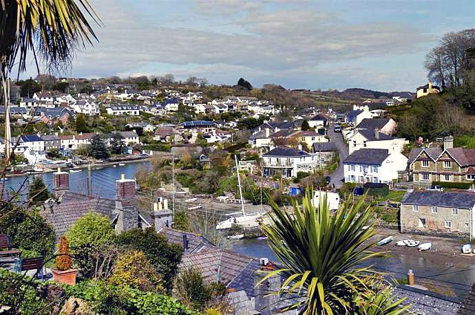 Blue Skies is located in Noss Mayo